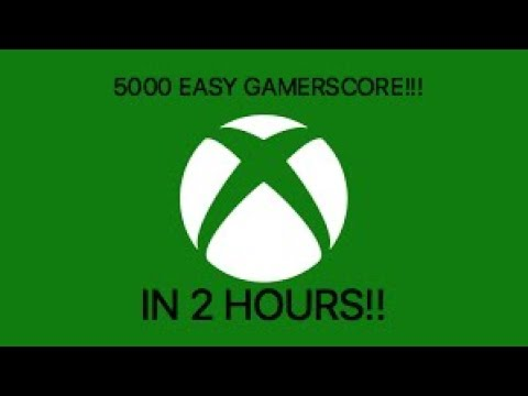 5 000 Xbox One Gamerscore In 2 Hours Easy Achievements In
