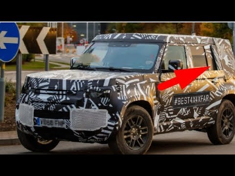 2020 Land Rover Defender is staying boxy