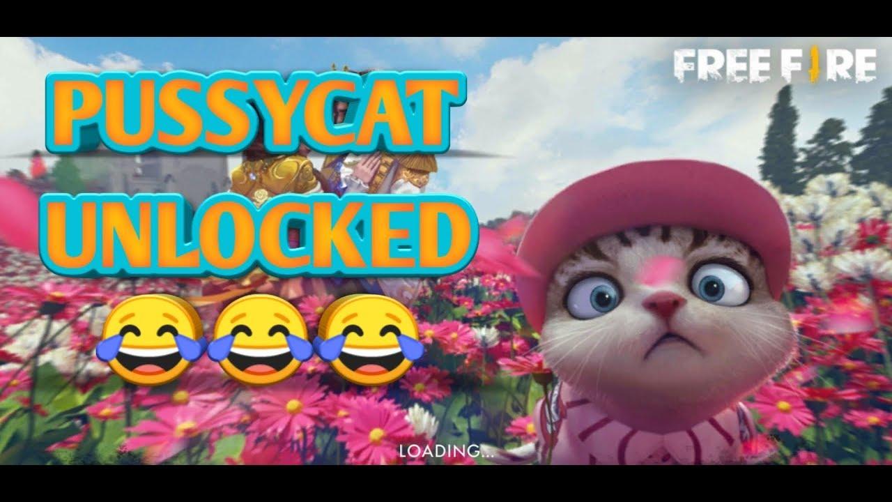 Freefire Unlock The Cat Kitty Jdev