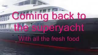 Inside a superyacht