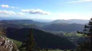 Wasserfallen - Chellenchoepfli, 2013-10-17, view to Swiss Alps
