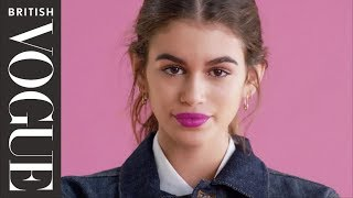 Kaia on Kaia: Who's the real Kaia Gerber? | X on X | British Vogue