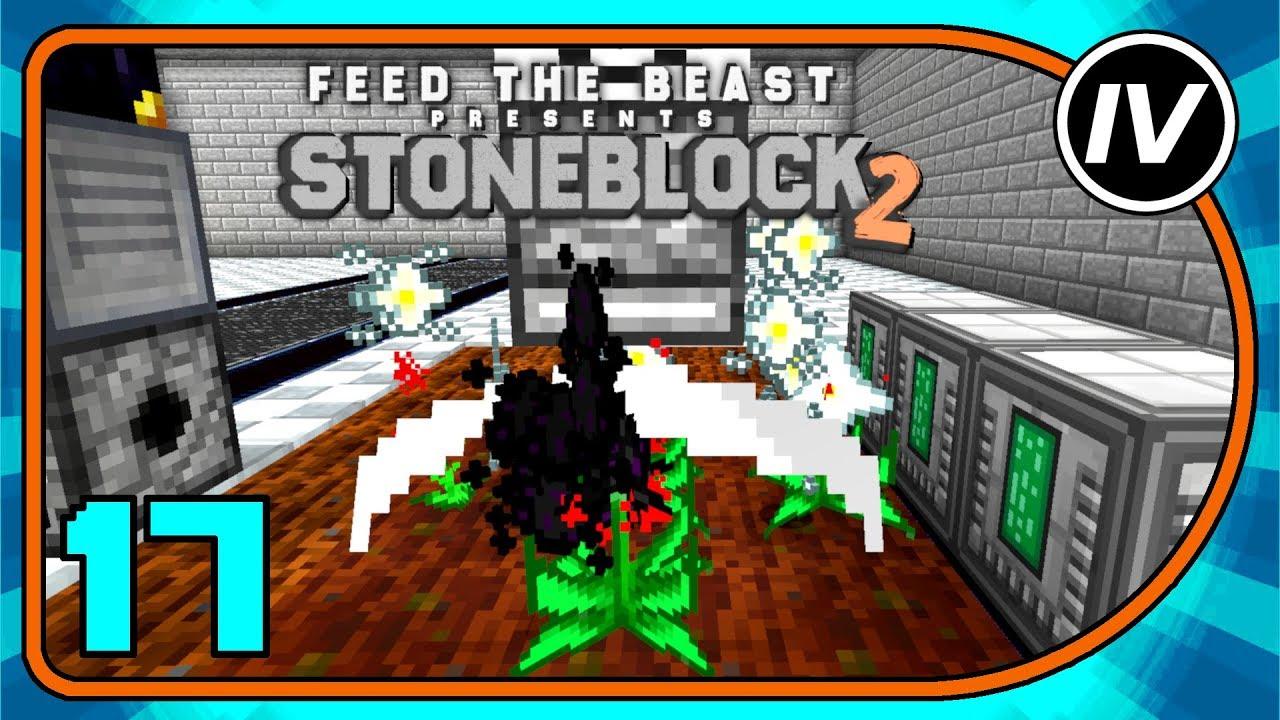 FTB Stoneblock 2 - Ep 17 - Dragon Eggs FAST!