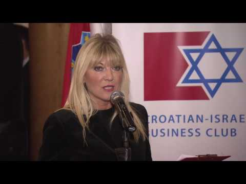 A traditional reception by Embassy of Israel and the Croatia