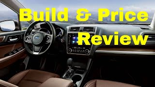 2019 Subaru Outback 3.6R Touring Video - Build & Price Review: Features, Configurations, Colors