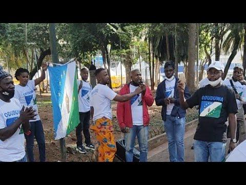 Download Live : YORUBA NATION  & BIAFRA REPUBLIC PROTEST,  SÃO PAULO, BRAZIL