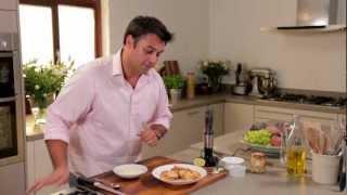 Parmesan And Artichoke Crostini Canapés Recipe