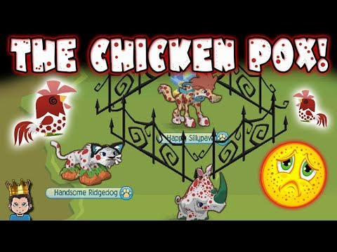 The Chicken Pox! New Animal Jam Skit