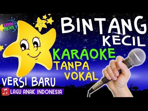 BINTANG KECIL ⭐🎤 Lagu Anak Versi KARAOKE TANPA VOKAL