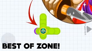 BEST OF ZONE! (Agar.io Mobile Win Compilation)