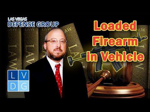 Loaded firearm in my vehicle – Is it legal in Nevada? NRS 503.165