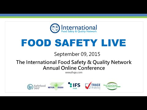 Food Safety Live 2015
