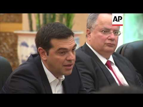 Greek PM meets Chinese President in Beijing