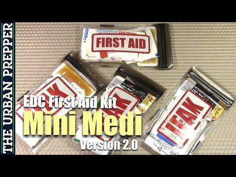 Mini Medi v2 0 | EDC First Aid Kit (iFAK) - YouTube
