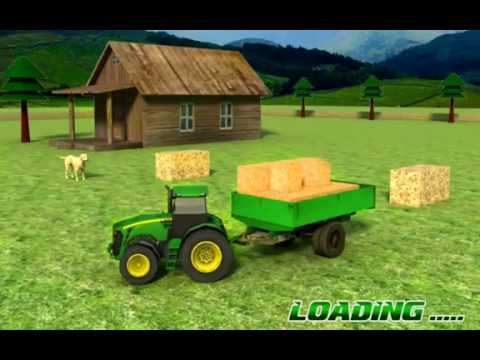 Animal & Hay Transport Tractor - Overview, Android GamePlay HD