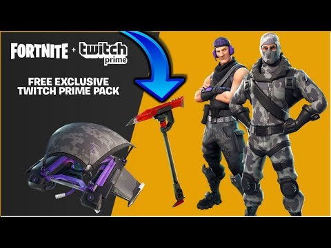 NEW TWITCH PRIME LOOT | FORTNITE LIVE GAMEPLAY |