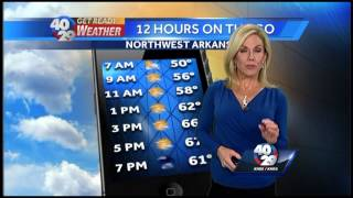 Laura's Weather Webcast Oct. 15th