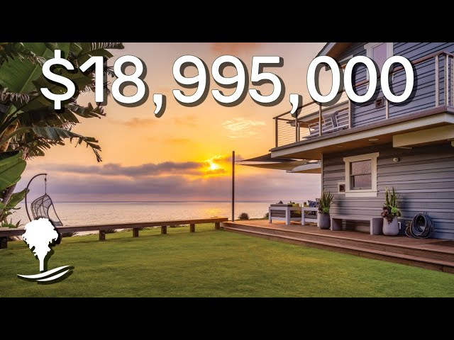 417 Pacific Avenue, Solana Beach, CA 92075   Offered at $18,995,000