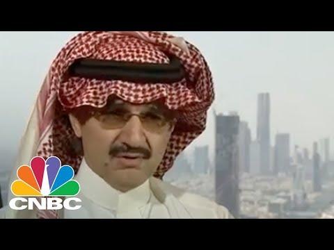 Saudi Prince Alwaleed Bin Talal On Aramco IPO And Thoughts On President Donald Trump (Full) | CNBC