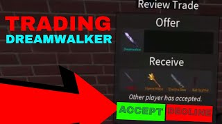 TRADING MY DREAMWALKER FOR THIS? (ROBLOX ASSASSINS GOOD TRADES?)
