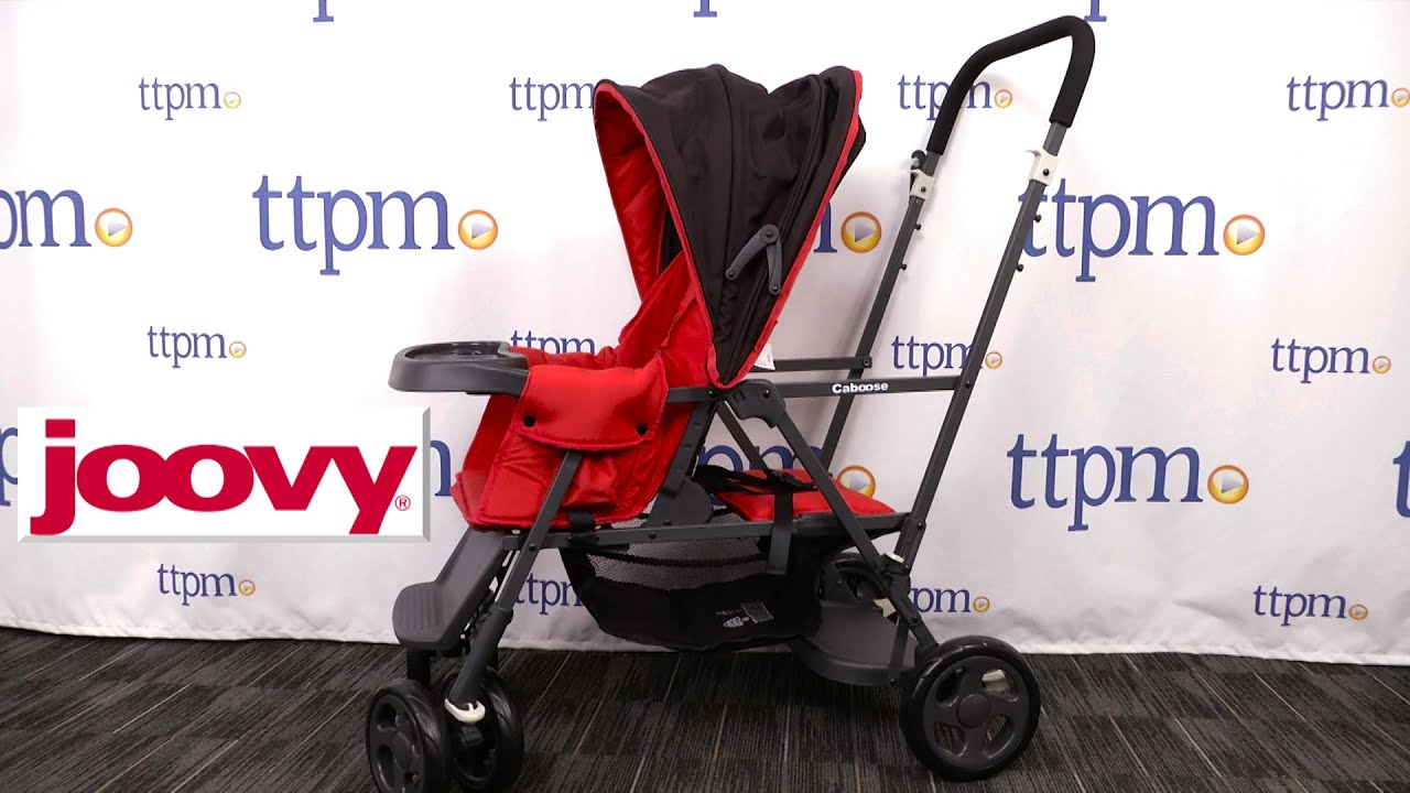 Caboose Graphite Stroller From Joovy Youtube