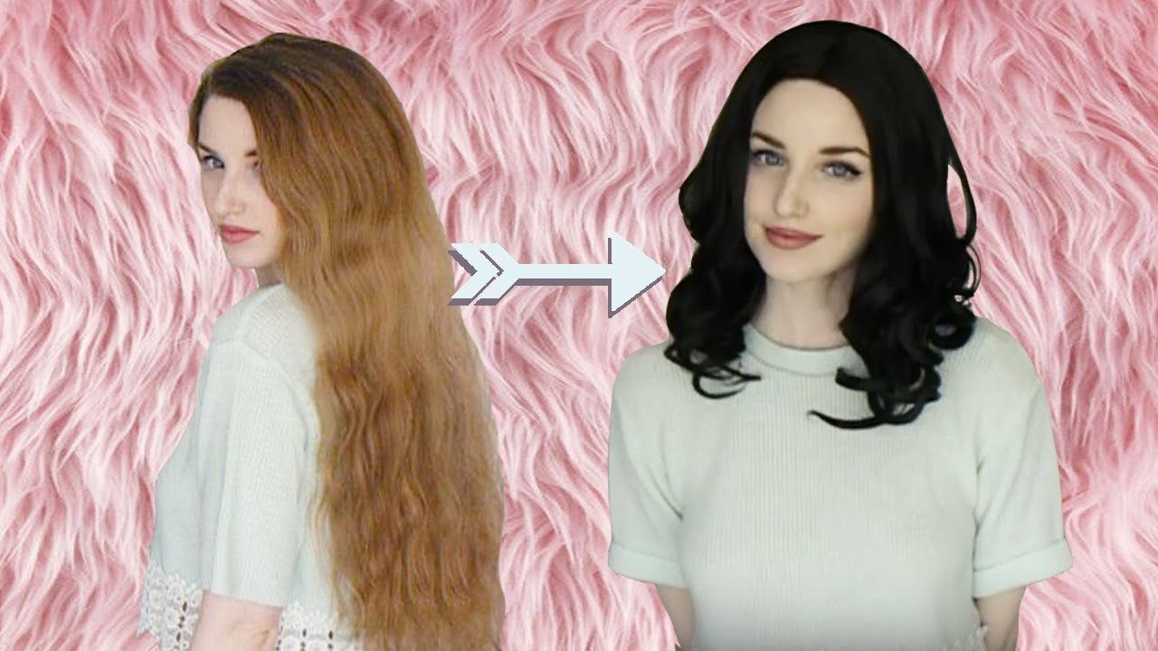How to get Long Thick Hair Under a Wig - YouTube 57ba7b82b