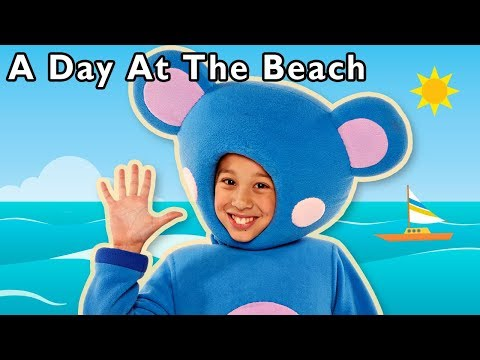 A Day at the Beach and More | CELEBRATE WORLD OCEAN DAY | Baby Songs from Mother Goose Club!