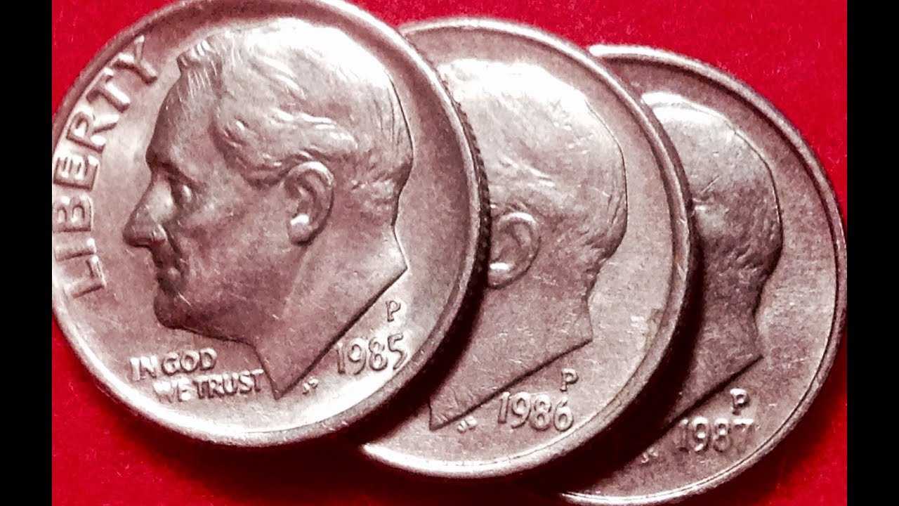 1985, 1986, 1987 Dimes: Look For Misplaced Mint Marks