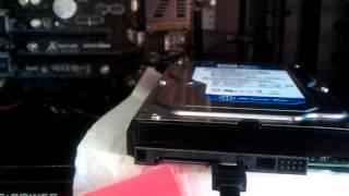 Festplatte einbauen / SATA Festplatte installieren