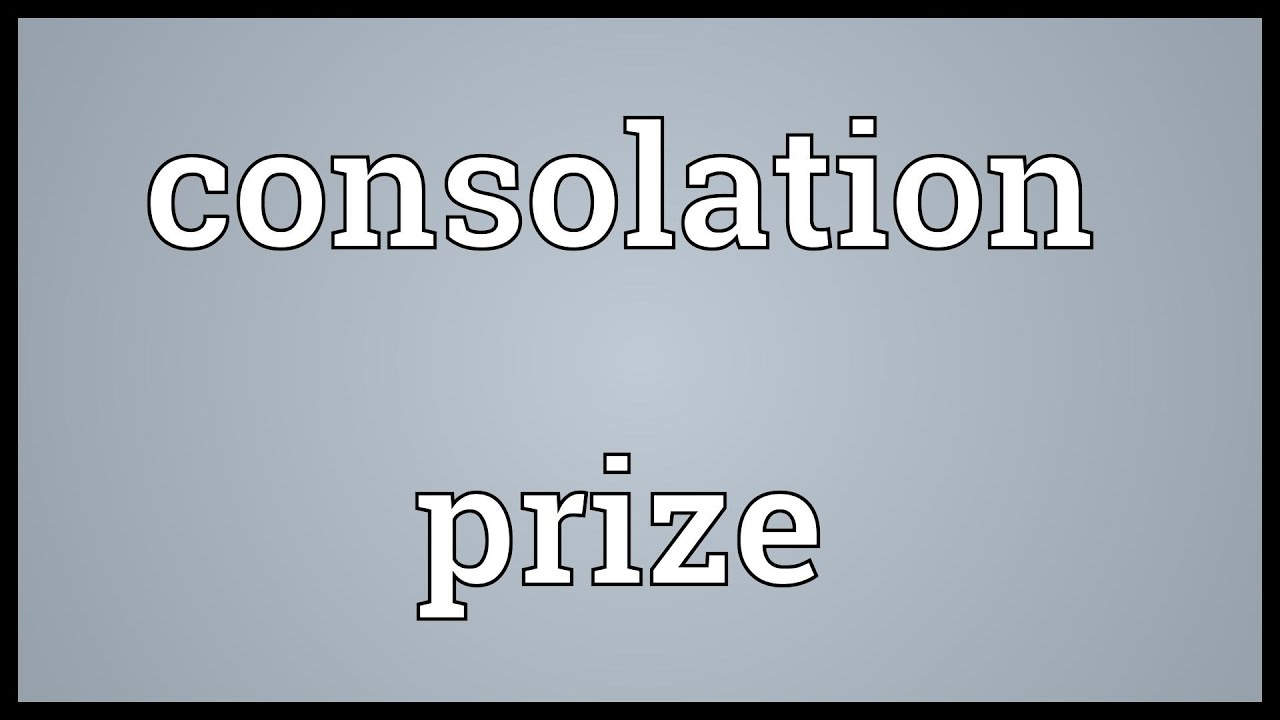 Consolation Definition