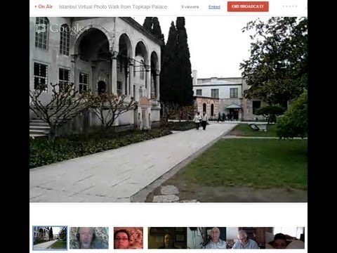 Istanbul Virtual Photo Walk from Topkapi Palace