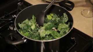 Spicy Creamy Kale Pasta (low Salt And Vegan!)