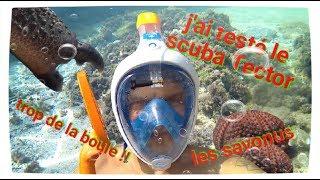 J'ai testé le Scuba Tector à la plage pour vous. I tested the Scuba Tector at the beach for you
