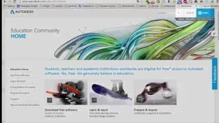[AutoCAD Architectura] Как бесплатно загрузить и активировать программы с сайта Autodesk