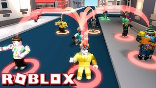 TAKING MONEY FROM NOOBS!!   ROBLOX CASH GRAB SIMULATOR