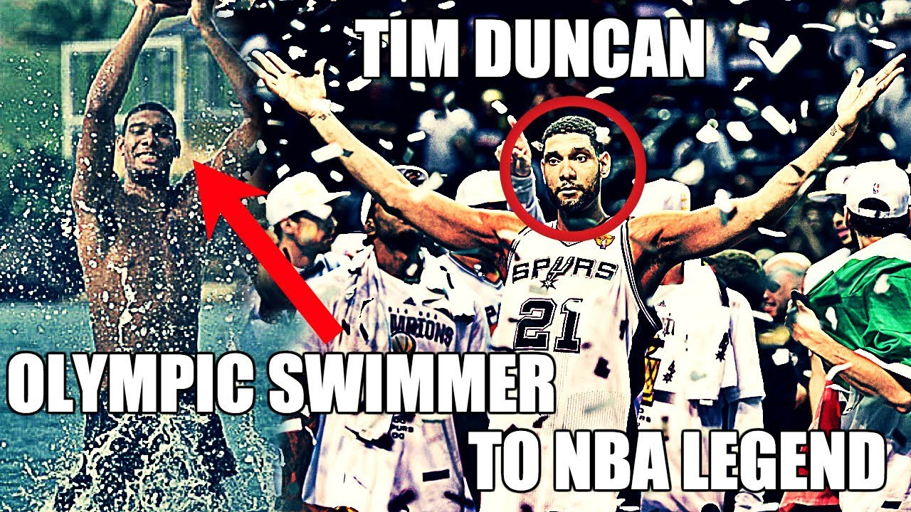 How Tim Duncan Went From Olympic Swimmer To NBA Legend