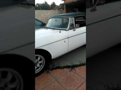 1977 MGB MK IV Convertible, chrome bumper conversion