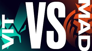 VIT vs. MAD - Week 6 Day 2 | LEC Summer Split | Team Vitality vs. MAD Lions (2021)