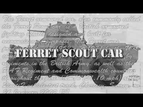 Ferret Scout Car - The Ontario Regiment RCAC Museum - Phoenix Aerial Media