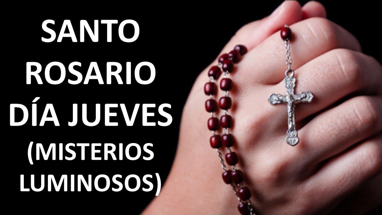 ▶ SANTO ROSARIO PARA EL DÍA JUEVES (MISTERIOS LUMINOSOS)- ORACION Y PAZ
