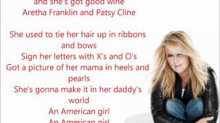 Trisha Yearwood - American Girl (X's and O's) Lyrics.