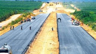 Perú Construcción Carretera Chincha Ica Avances
