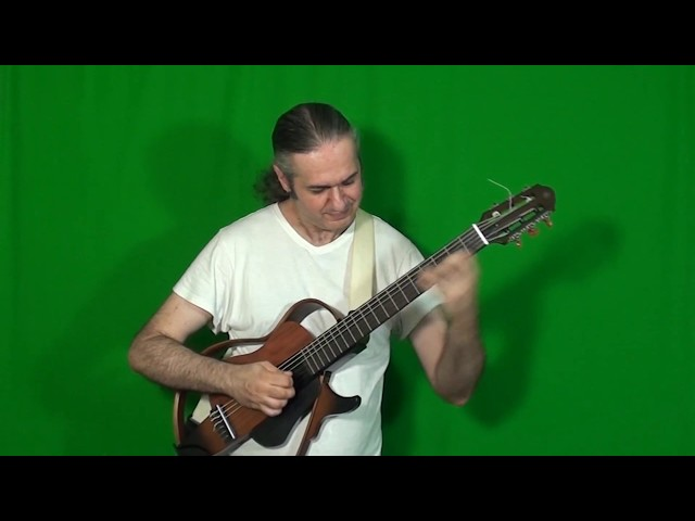 JULIAN LAGE solo on LAST SNOW (Gary Burton) played by MARCELLO ZAPPATORE