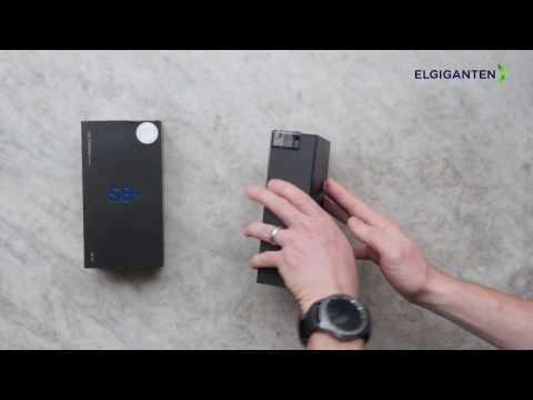 Unboxing Av Samsung Galaxy S8 Hos Elgiganten Youtube