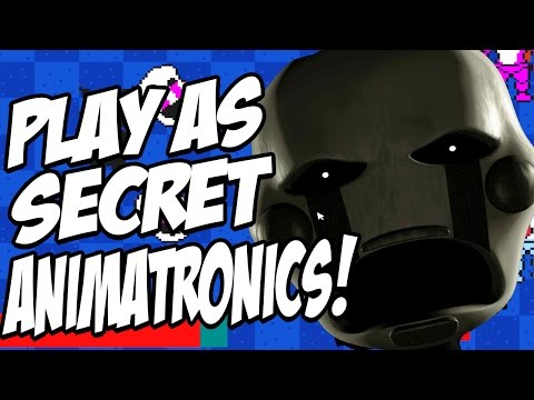 Five Nights at Candys 2 Simulator: Part 4 - PLAY AS SECRET ANIMATRONICS! FIGHT SHADOW CANDY!