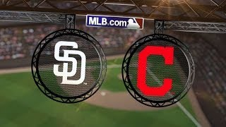 4/8/14: Kluber, Murphy steer Tribe past Padres