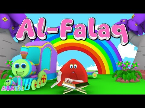 Animation 3D Juz Amma Al - Falaq | Recite Quran with Battar Train Hijaiyah | ABATA Channel