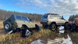 Гусеницы на уазе, или 45 колёса на порталах? Что круче? Давайте разбираться