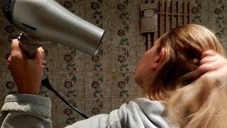 Repeat youtube video Hair Dryer Sound , #ASMR 3 Hours [ Sleep Music ]