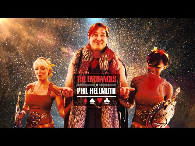 Every Epic Phil Hellmuth World Series of Poker Main Event Entrance Spectacle!